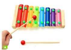 N.CHOICE Stick 8 Tone Beat Brilliant Basics Classic Wood Xylophone,Best First Musical Instrument for Children, Fun and Educational for All Ages, 2016 Amazon Hot New Releases Band & Orchestra  #Musical-Instruments