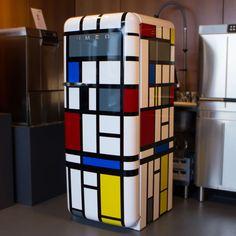 mondrian fridgewrap refrigerator wrap