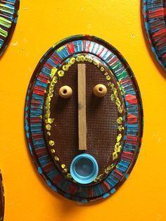 masques africains PS - La classe de Teet et Marlou