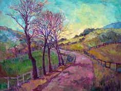 "Saatchi Art Artist Erin Hanson; Painting, ""Morning Gaze"" #art"