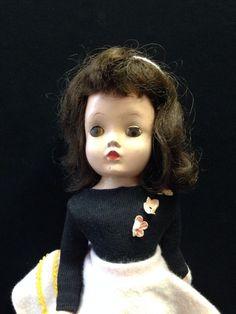 "1950s Madame Alexander 14"" Binnie Winnie Walker Doll Cissy Face Mold Redressed #DollswithClothingAccessories"