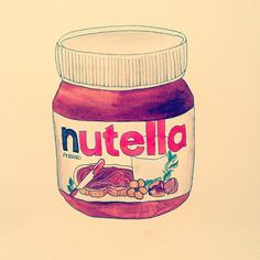nutella tumblr drawing - Google Search
