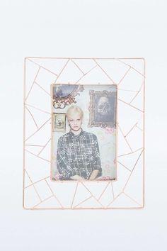 Geometric Copper Frame £12.00