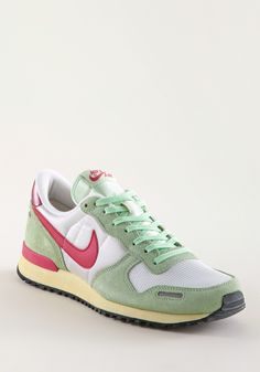 NIKE Air Vortex Vintage NYL/SU mint-red-white, Running,