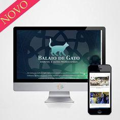 Mais um novo trabalhando que esta no ar! Novo site da Agência Balaio de gato - ações promocionais em Maceió - www.agenciabalaiodegato.com.br #web #site #portifolio #instajob #job #mkt #midia #novidades #work