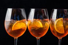 A classic Aperol spritz cocktail recipe.
