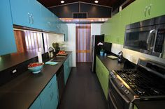 Our Care-Free Home: Our New Midcentury Modern-Inspired, Green-friendly Kitchen