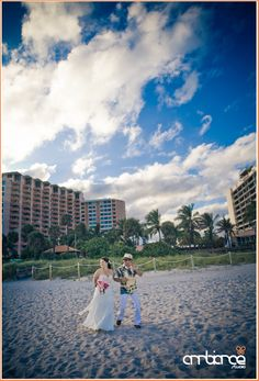 Miami Beach Wedding #ceremony #beachwedding #SOBE