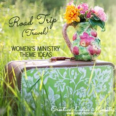 Map and Travel Womens Ministry Theme Ideas:  Creative Ladies Ministry.  #womensministry  #ladiesministry