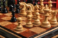 CHESS ♜ The Siena Artisan Series Luxury Chess Set