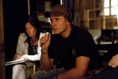 Jensen-not just a pretty face, but a talented director/actor to boot!