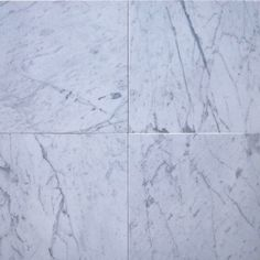 18X18 Carrara White Marble -Made in Italy- ..PolishedHoned and Tumbled finish available... $6.99 a SF  www.shopemt.com #marble #tiles #flooring #remodel #construction #contractor #shopemt #backsplash #losangeles #onlineshop #business #interiordesign #interior #tileinstaller #tileaddiction #homeimprovement #mosaics #carrara #madeinitaly by eximius_mosaic_tile