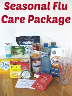 Seasonal Flu Care Package - Organized 31  #GetAShot #CollectiveBias #shop