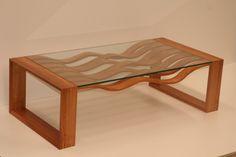 WAVEFORM coffee table by Aidan Morris