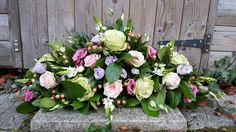 unity candle arrangement - roses, lisianthus, hypericum berries, ornit, foliage Unity Candle, Candles, Candle Arrangements, Fresh Flowers, Mushroom, Wedding Flowers, Berries, Floral Wreath, Roses