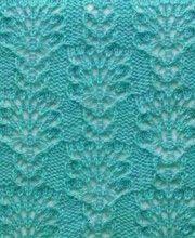 Lace Knit Stitch Free Knitting Patterns http://knitchart.com/category/lace-knit-stitch-patterns.html