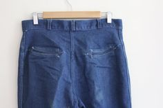 Vintage 1970s Arrow Jeans / Sweet Basil by TheWildsVintageShop