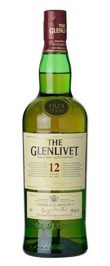 Glenlivet 12 Year Old Single Malt Whisky 750ml (Elsewhere $37)