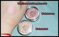 Make Etcs: Partnership Lumiere Cosmetics. Blushes: Autumn, Apricot