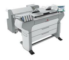 Farbplotter mit Faltmaschine
