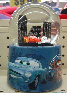 Cars Snowglobe