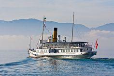 S/S Savoie - ABVL | Association des amis des bateaux à vapeur du Léman Classic Motors, Seen, Most Favorite, Countries Of The World, Sailing Ships, Boats, Motor Yachts, Yearly, Lighthouses