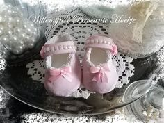 Brocante babyshoes from clay -©CW