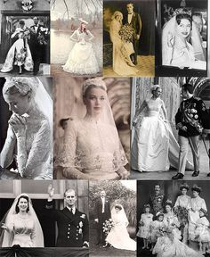 Royal wedding love. (I am obsessed with Grace Kelly)