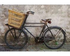 Bici da lavoro olandese anni 30 #cars #carsandmotorcycles #vehicles