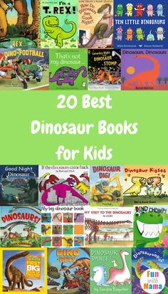 Here are 20 of the Best Dinosaur Books around ranging from early readers to older readers. These are a great way to keep them interested in reading all summer long, plus don't forget those Free Reading Programs happening all summer long. #reading #books #dinosaurs #booksaboutdinos #bestbooks #booklists #summerreading