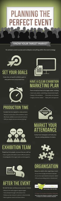Infographic: Planning The Perfect Event - Event Industry News #aawep #events