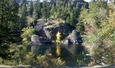 SPOKANE RIVER in the fall. Taken from Riverside park