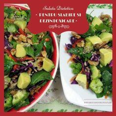 Rulada de Carne Tocata ⋆ Retete Pentru O Viata Tzatziki, Pasta Carbonara, Cobb Salad, Potato Salad, Pizza, Potatoes, Broccoli, Ethnic Recipes, Desserts