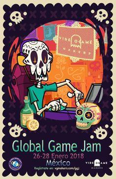 Poster showcase 2018 | Global Game Jam® Poster Creator, Google Images, Game, Creative, Venison, Gaming, Games