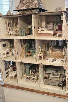 house interior - WyckedWood Beacon Hill~The Sea Hag~ - Gallery - The Greenleaf Miniature Community: