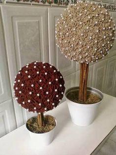 topiaria fuxico - Pesquisa Google