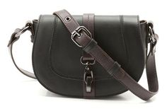 Leather Bags - Tiny May in Black Leather from Clarks shoes