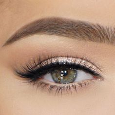 Natural Makeup For Brown Eyes, Makeup For Green Eyes, Natural Eyes, Blue Eye Makeup, Smokey Eye Makeup, Smoky Eye, Face Makeup, Eyeshadow Makeup, Makeup For White Dress