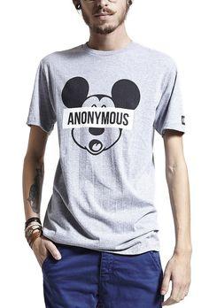 Camiseta Masculina Mickey - Compre já - KING55 Loja de roupas