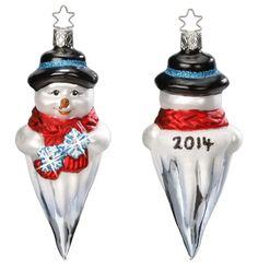 Winter's Frost 2014 Annual Ornament - with Presentation Box - Swarovski Collection