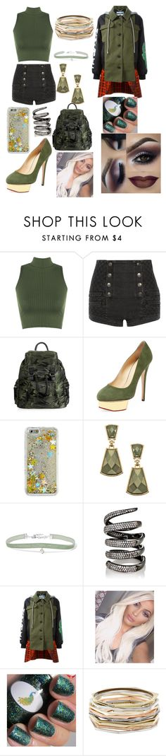 """Untitled #40"" by eden-sahar-1 ❤ liked on Polyvore featuring WearAll, Pierre Balmain, Topshop, Charlotte Olympia, Skinnydip, Blu Bijoux, Chan Luu, Fallon, Moschino and Kendra Scott"