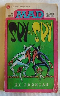 Spy Vs. Spy - Mad Magazine Book 1974