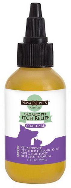 Organic Pet Itch Relief - (Oil Treatment)