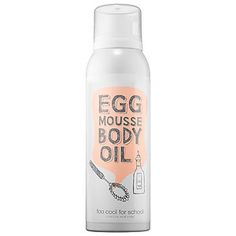 Egg Mousse Body Oil - Too Cool For School | Sephora