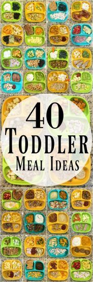 These healthy toddler meal ideas will help you make healthy breakfast, lunch and dinner options for the kids!