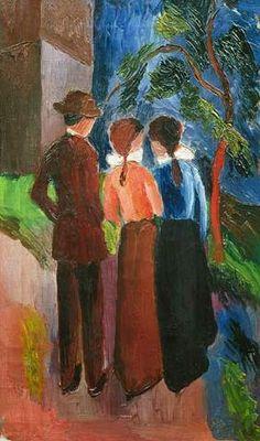 August Macke - The Walk
