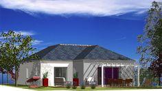 Maison  de 108,00 m²  de plain-pied