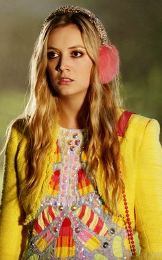 Scream Queens, Chanel #3 (Billie Lourd). The fashion on this show is amazing, but hers is my fav.