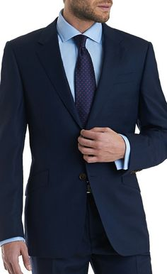 Tailor Made Suit 5 Suits 5, Groomsmen Suits, Cool Suits, Mens Suits, Blue Suit Wedding, Wedding Suits, Mens Fashion Suits, Men's Fashion, Groom Fashion