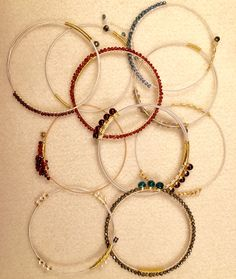 Melinda Shea Jewelry Guitar String Bracelets